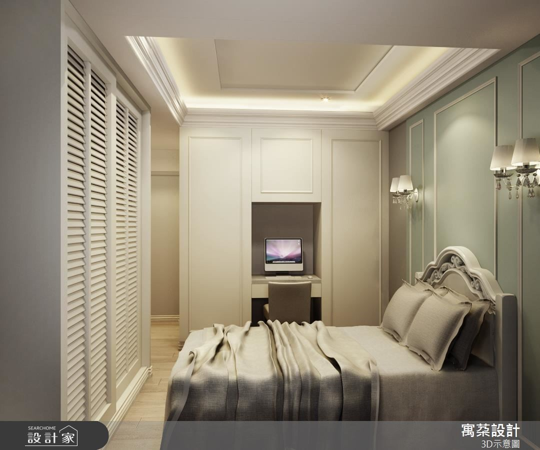 80坪新成屋(5年以下)_奢華風臥室案例圖片_寓朵設計_寓朵_27之8