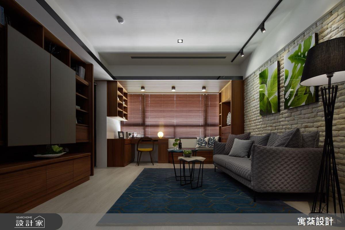 20坪新成屋(5年以下)_休閒風客廳案例圖片_寓朵設計_寓朵_28之1