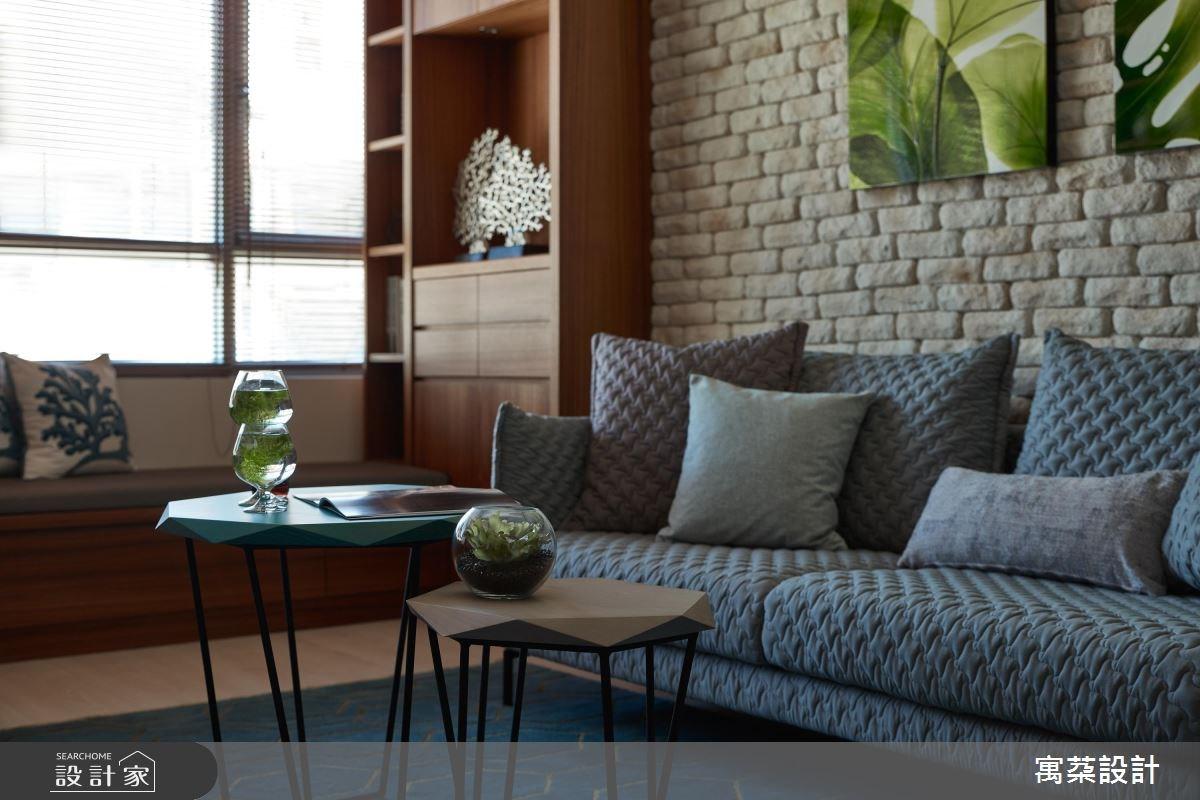 20坪新成屋(5年以下)_休閒風客廳案例圖片_寓朵設計_寓朵_28之3