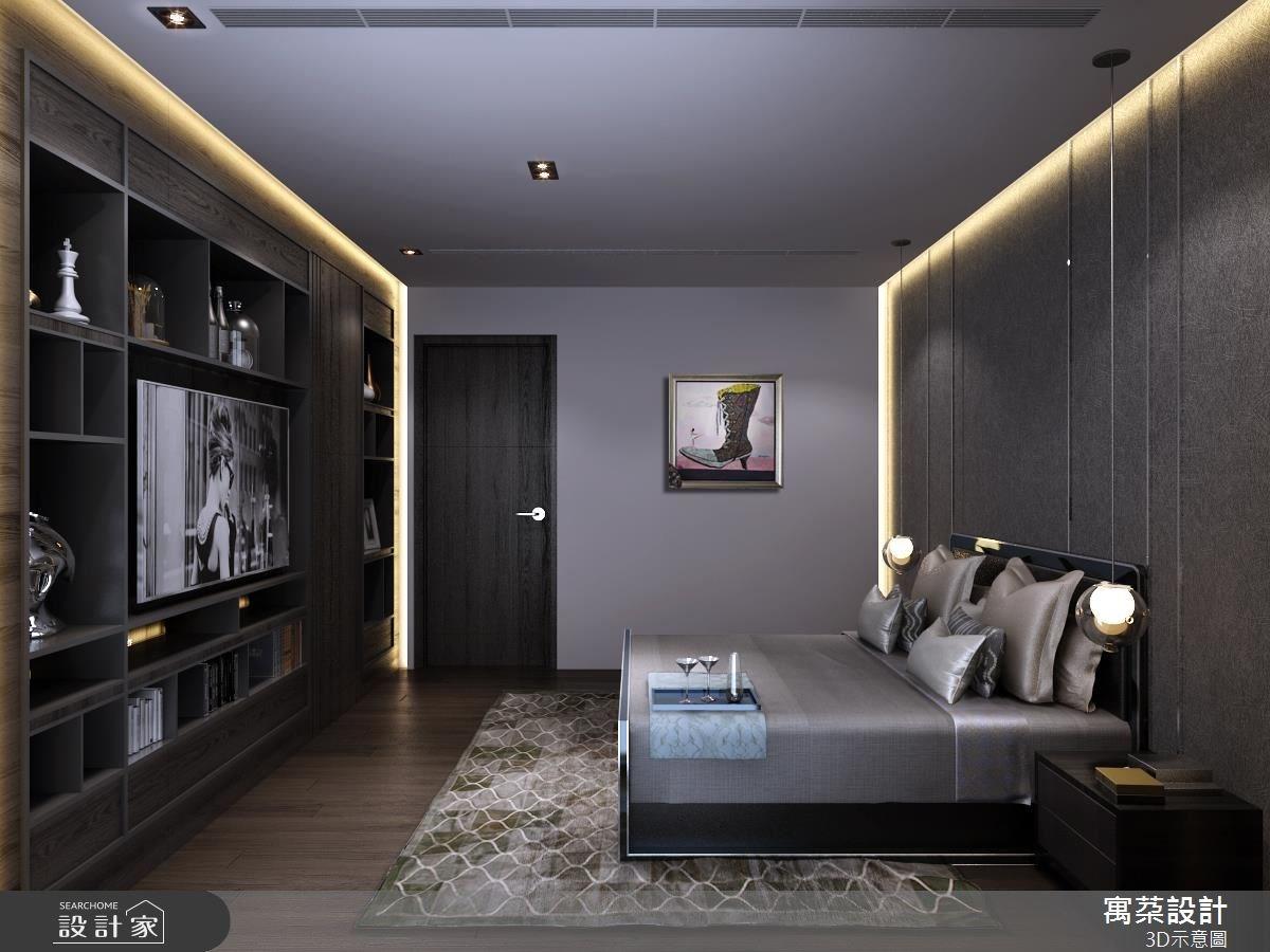 40坪新成屋(5年以下)_現代風臥室案例圖片_寓朵設計_寓朵_29之4