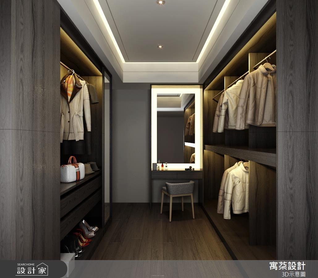 40坪新成屋(5年以下)_現代風更衣間案例圖片_寓朵設計_寓朵_29之5