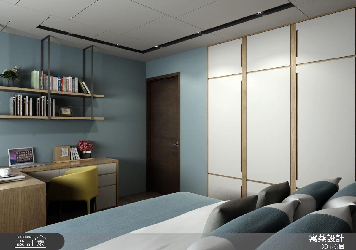 40坪新成屋(5年以下)_現代風臥室案例圖片_寓朵設計_寓朵_29之6