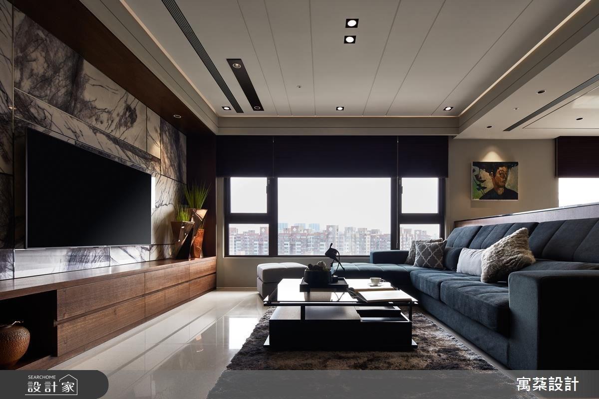 40坪新成屋(5年以下)_現代風客廳案例圖片_寓朵設計_寓朵_33之1