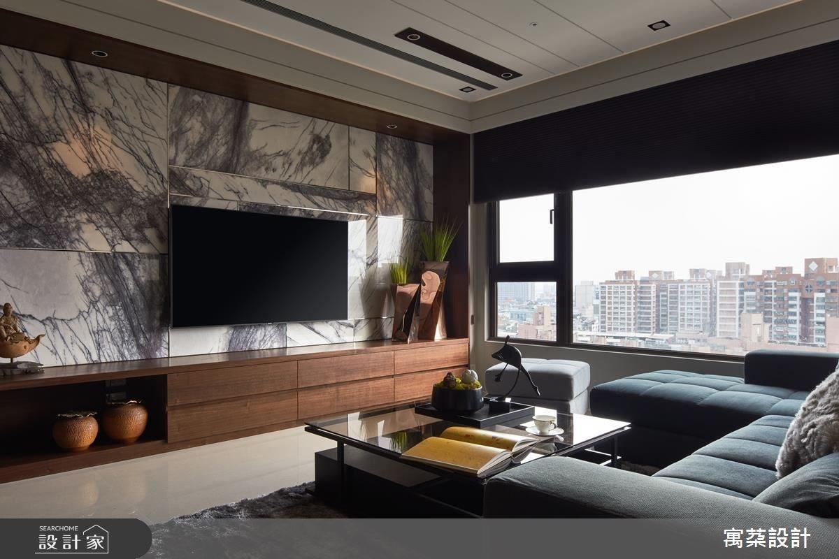 40坪新成屋(5年以下)_現代風客廳案例圖片_寓朵設計_寓朵_33之2