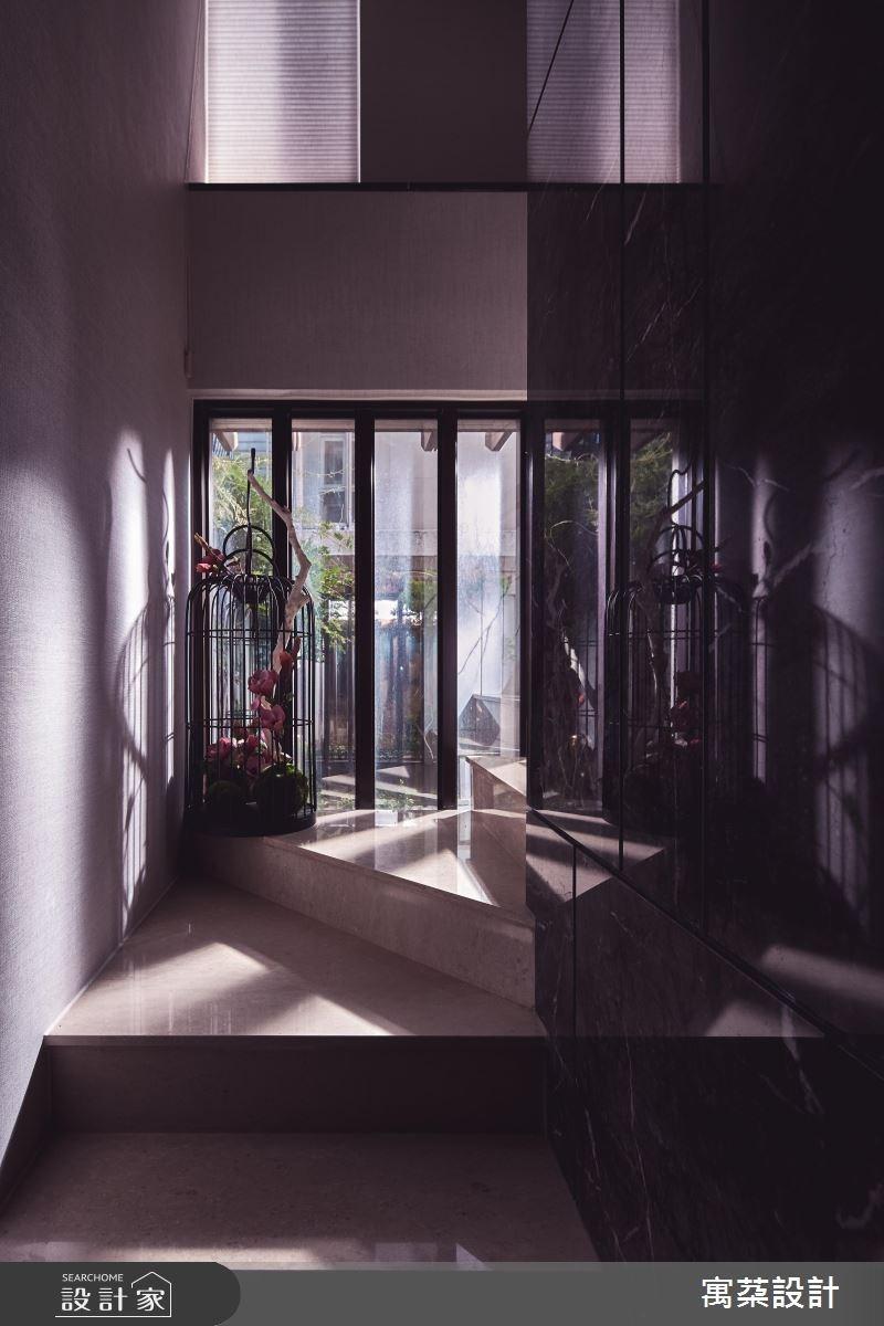 110坪中古屋(5~15年)_混搭風樓梯案例圖片_寓朵設計_寓朵_35之2