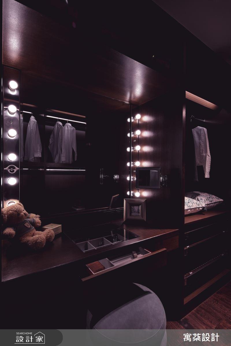 110坪中古屋(5~15年)_混搭風更衣間案例圖片_寓朵設計_寓朵_35之7