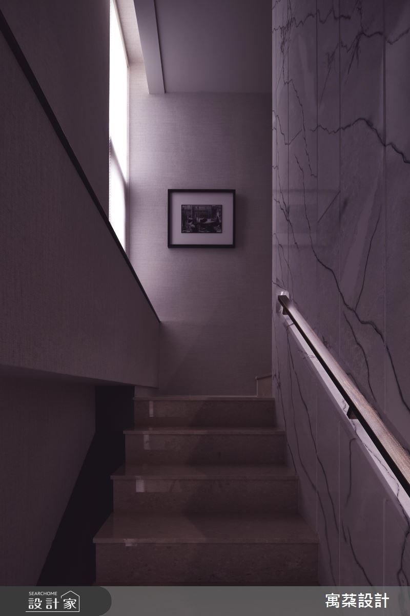 110坪中古屋(5~15年)_混搭風樓梯案例圖片_寓朵設計_寓朵_35之10
