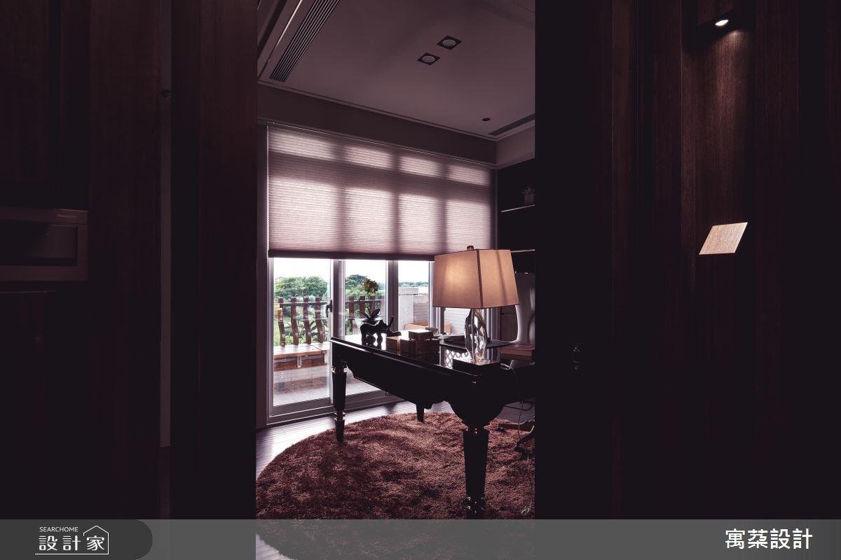 110坪中古屋(5~15年)_混搭風書房案例圖片_寓朵設計_寓朵_35之11