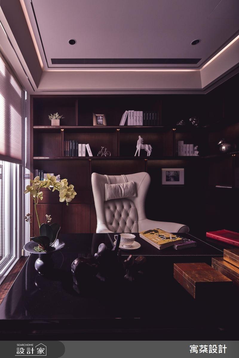 110坪中古屋(5~15年)_混搭風書房案例圖片_寓朵設計_寓朵_35之13