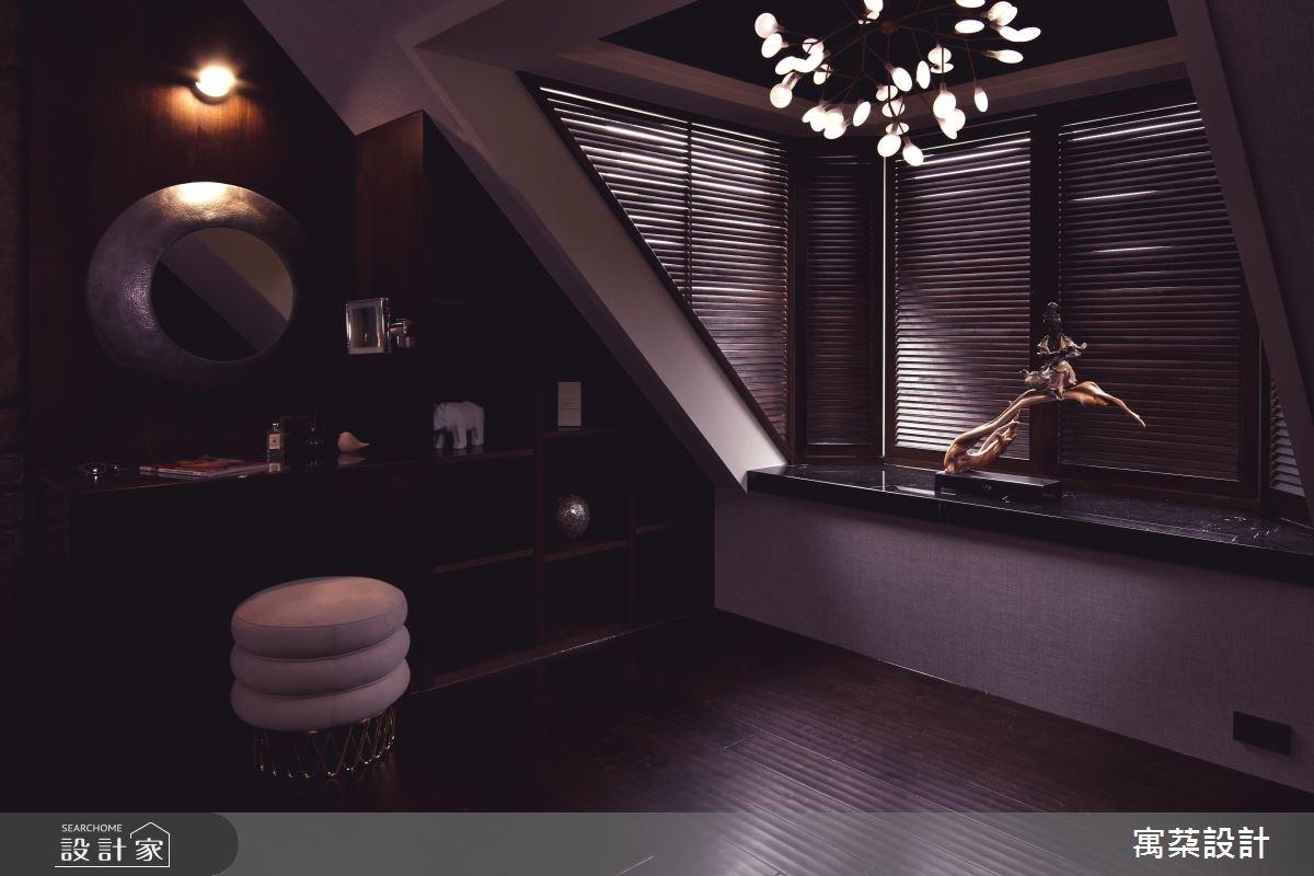 110坪中古屋(5~15年)_混搭風臥室案例圖片_寓朵設計_寓朵_35之16