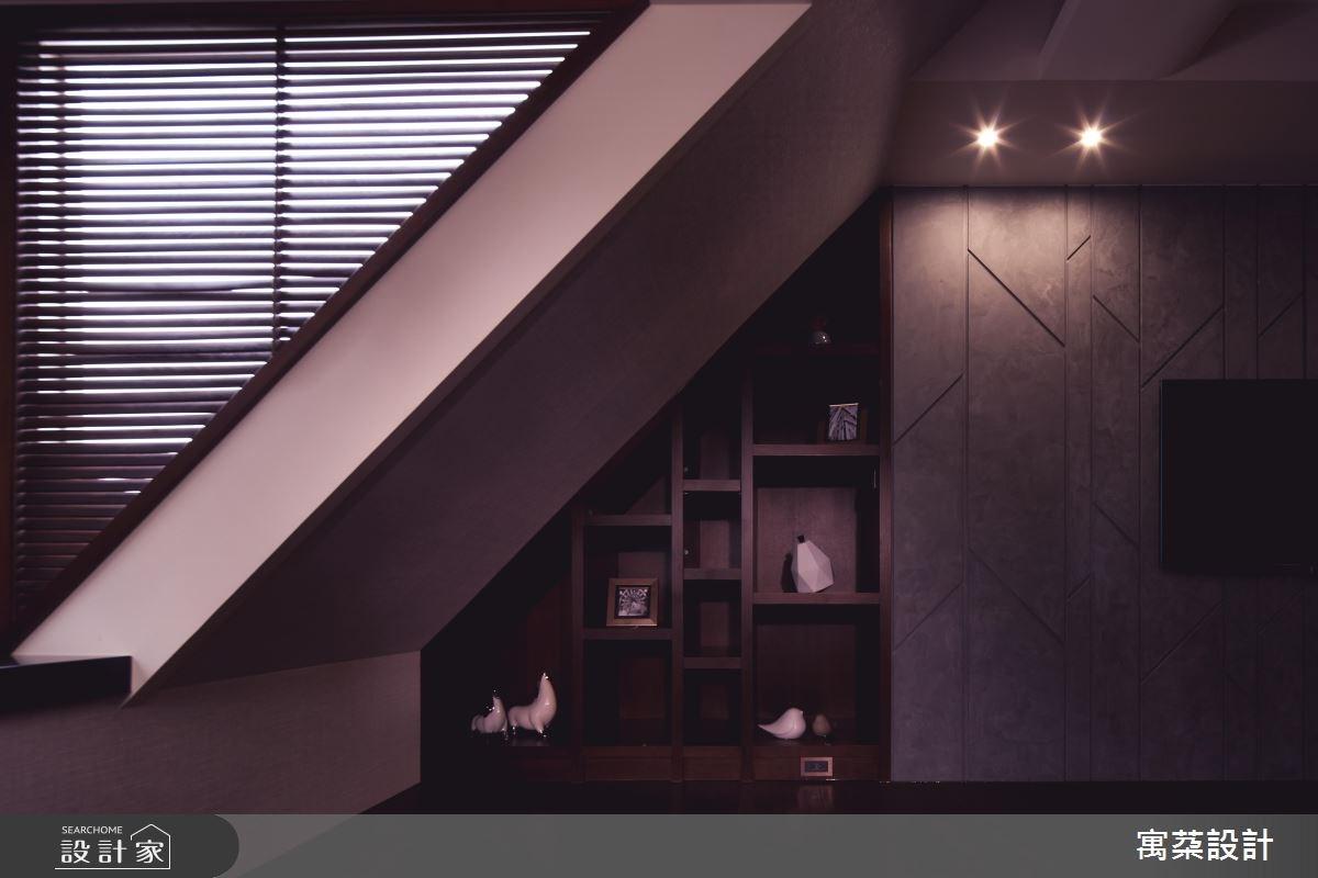110坪中古屋(5~15年)_混搭風臥室案例圖片_寓朵設計_寓朵_35之17