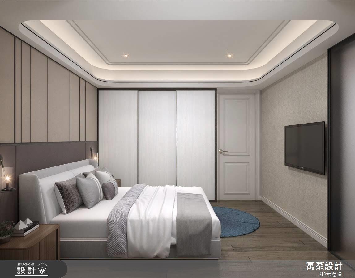 32坪中古屋(5~15年)_美式風臥室案例圖片_寓朵設計_寓朵_37之3