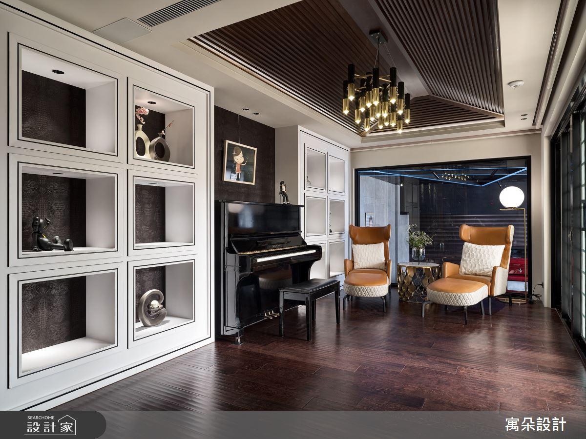 155坪中古屋(5~15年)_混搭風書房案例圖片_寓朵設計_寓朵_38之4