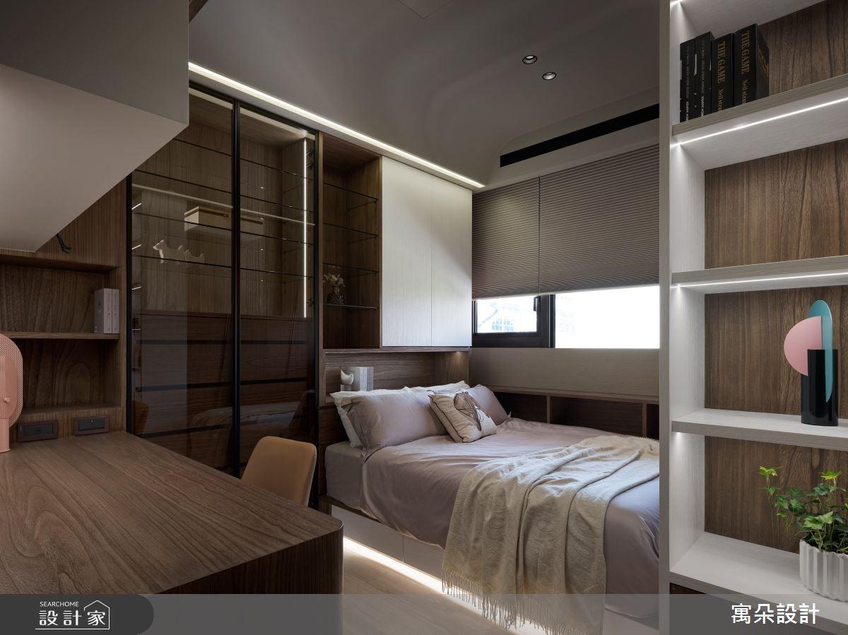 42坪新成屋(5年以下)_混搭風臥室案例圖片_寓朵設計_寓朵_42之26