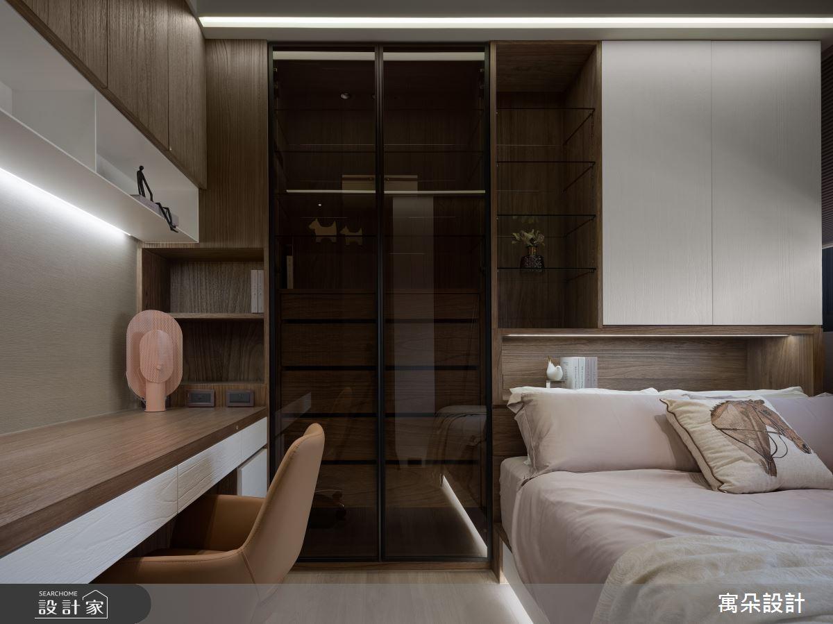42坪新成屋(5年以下)_混搭風臥室案例圖片_寓朵設計_寓朵_42之27
