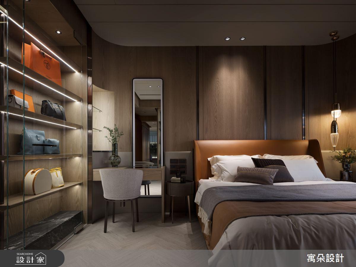 42坪新成屋(5年以下)_混搭風臥室案例圖片_寓朵設計_寓朵_42之25
