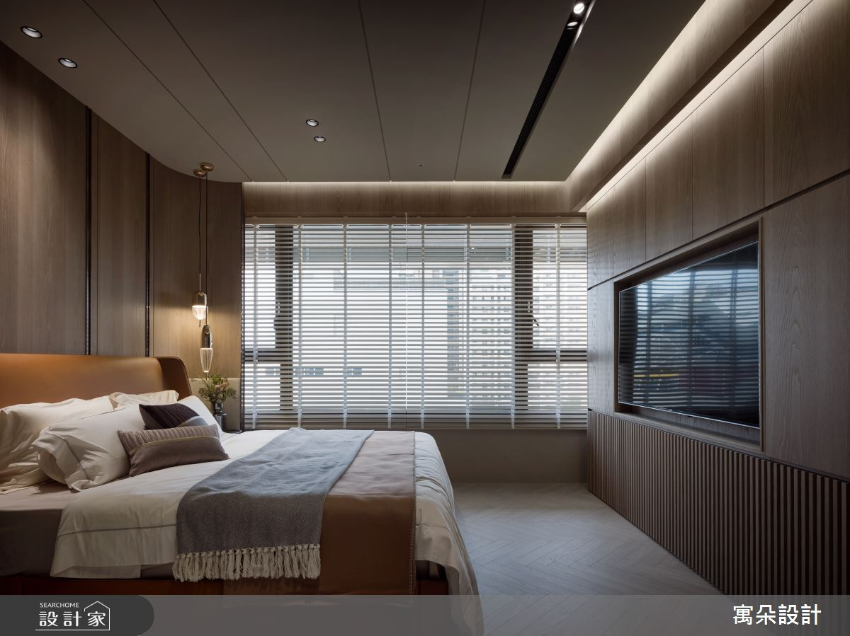 42坪新成屋(5年以下)_混搭風臥室案例圖片_寓朵設計_寓朵_42之23
