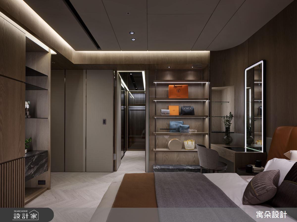 42坪新成屋(5年以下)_混搭風臥室案例圖片_寓朵設計_寓朵_42之24