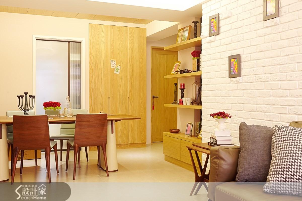 20坪老屋(16~30年)_北歐風餐廳案例圖片_双設計建築室內總研所_双設計_01之3