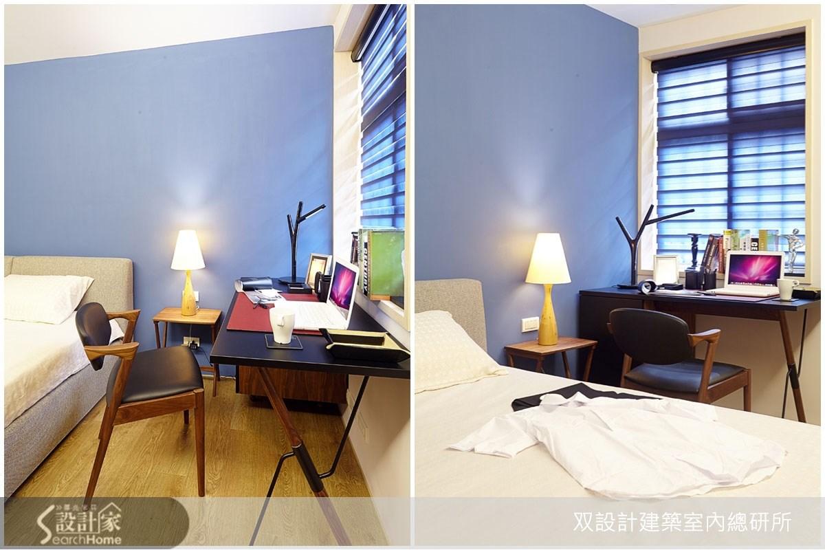 20坪老屋(16~30年)_北歐風臥室案例圖片_双設計建築室內總研所_双設計_01之12