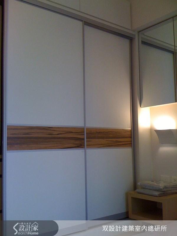 20坪新成屋(5年以下)_現代風臥室案例圖片_双設計建築室內總研所_双設計_02之11