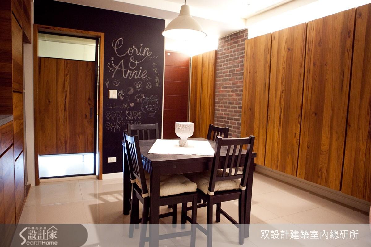 22坪新成屋(5年以下)_鄉村風餐廳案例圖片_双設計建築室內總研所_双設計_03之9