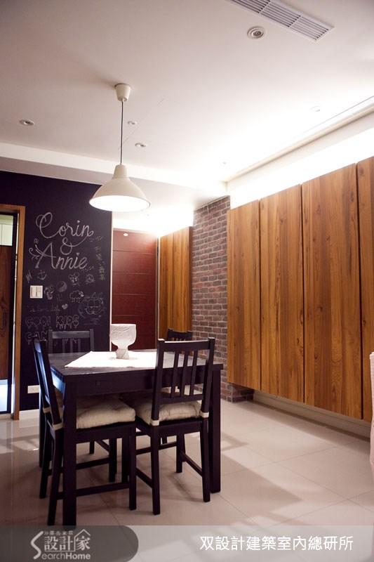 22坪新成屋(5年以下)_鄉村風餐廳案例圖片_双設計建築室內總研所_双設計_03之10
