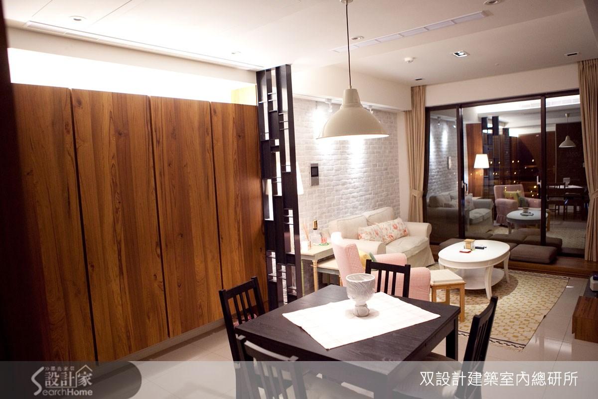 22坪新成屋(5年以下)_鄉村風餐廳案例圖片_双設計建築室內總研所_双設計_03之7