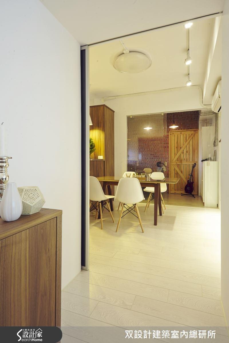 45坪新成屋(5年以下)_工業風餐廳案例圖片_双設計建築室內總研所_双設計_05之4