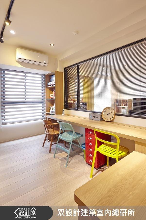 40坪老屋(16~30年)_北歐風書房案例圖片_双設計建築室內總研所_双設計_06之4