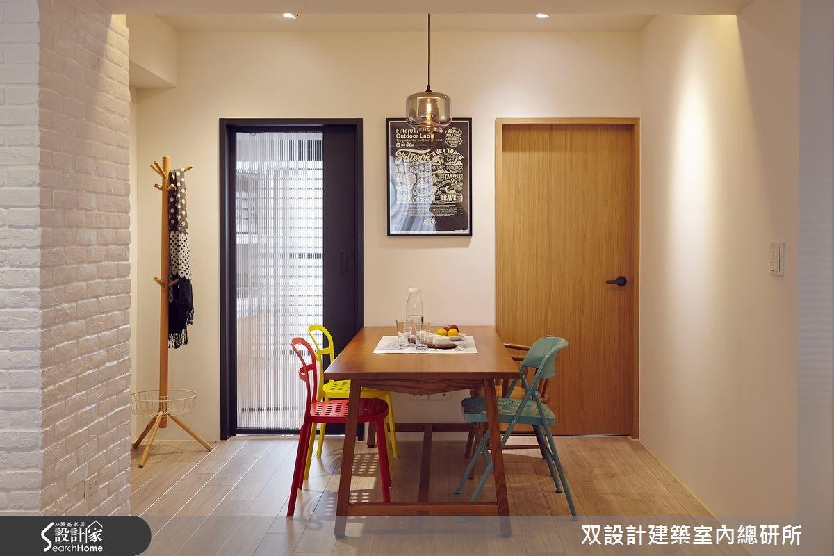 40坪老屋(16~30年)_北歐風餐廳案例圖片_双設計建築室內總研所_双設計_06之9