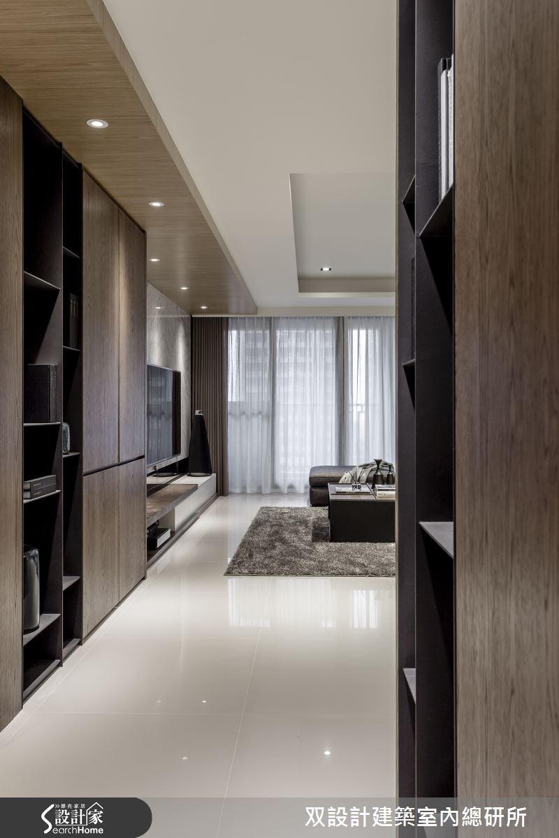 60坪新成屋(5年以下)_現代風玄關案例圖片_双設計建築室內總研所_双設計_07之1
