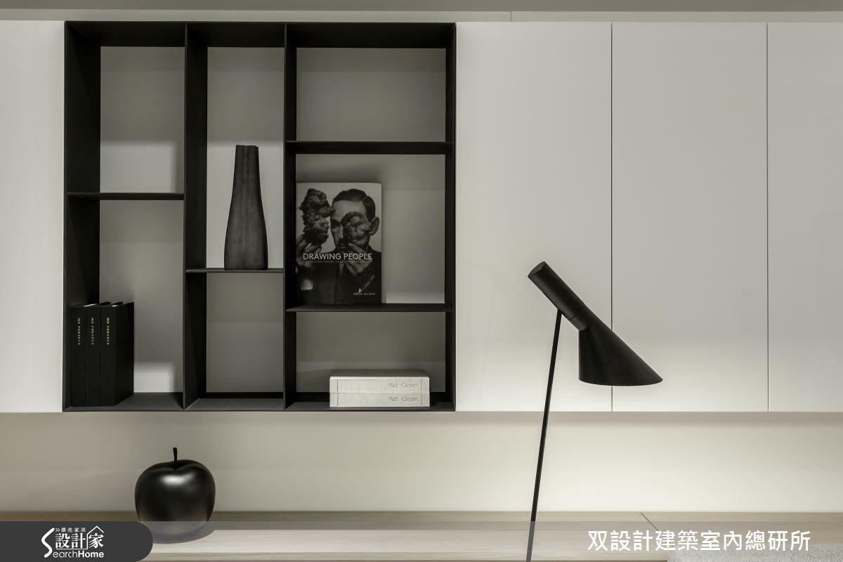 60坪新成屋(5年以下)_現代風臥室案例圖片_双設計建築室內總研所_双設計_07之29