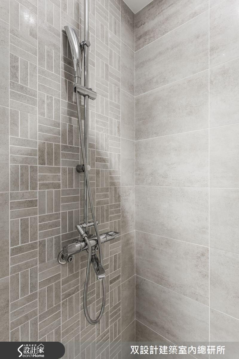 60坪新成屋(5年以下)_現代風浴室案例圖片_双設計建築室內總研所_双設計_07之30