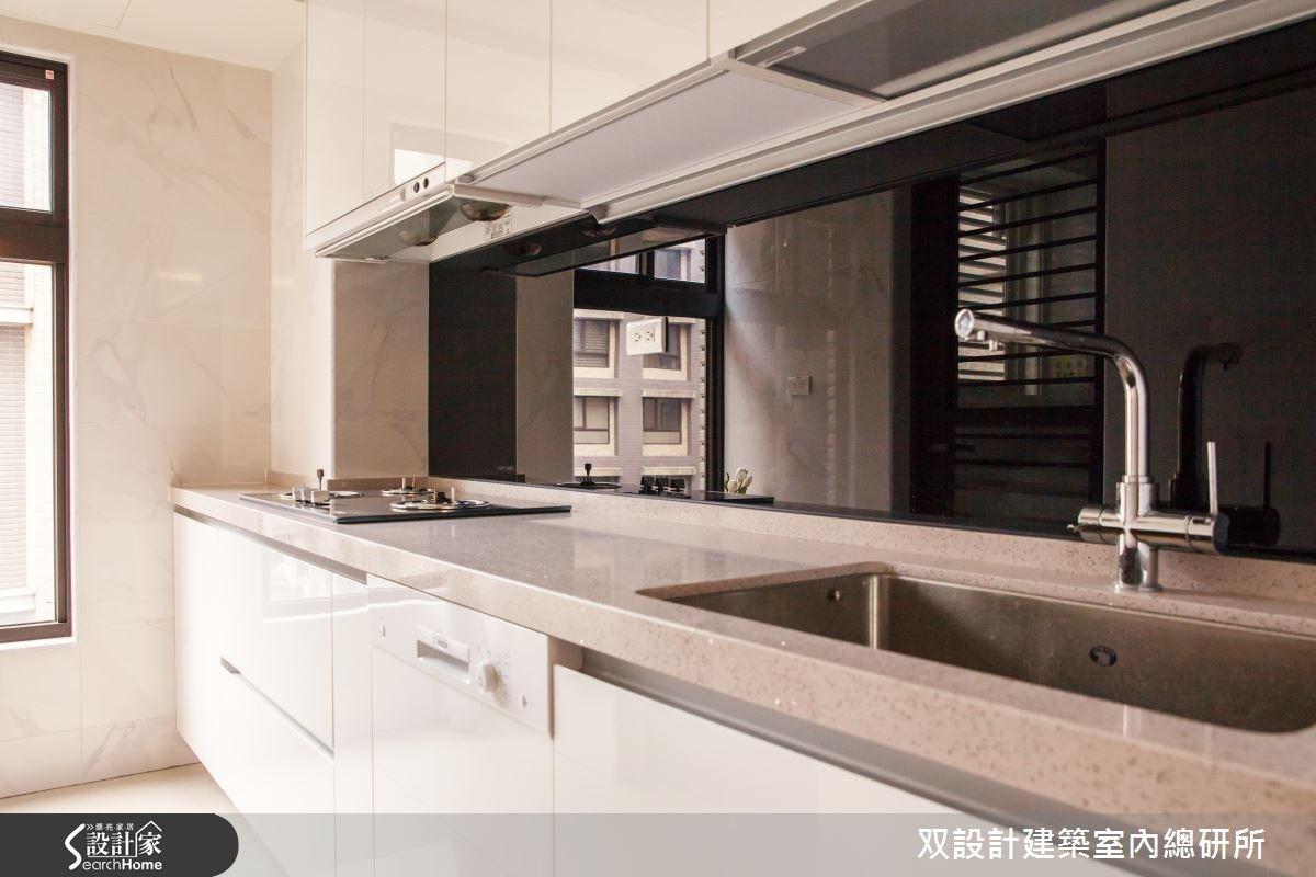35坪預售屋_現代風廚房案例圖片_双設計建築室內總研所_双設計_08之3