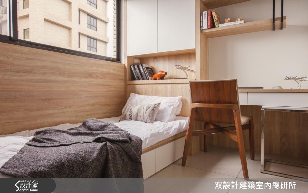 35坪預售屋_現代風臥室案例圖片_双設計建築室內總研所_双設計_08之4