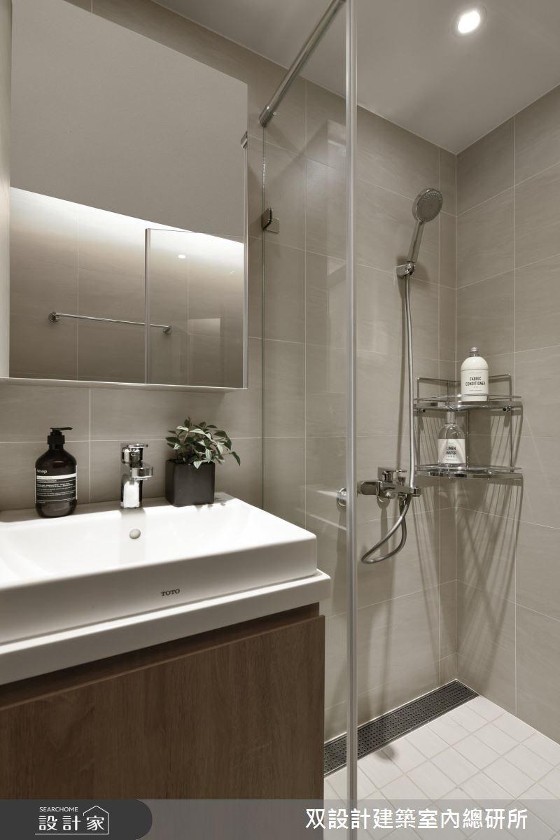 25坪中古屋(5~15年)_現代風浴室案例圖片_双設計建築室內總研所_双設計_09之25