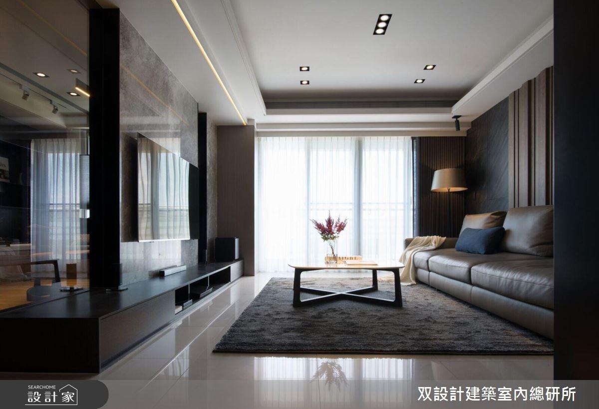 40坪新成屋(5年以下)_現代風客廳案例圖片_双設計建築室內總研所_双設計_10之4