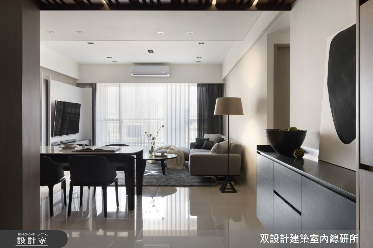 36坪新成屋(5年以下)_現代風客廳案例圖片_双設計建築室內總研所_双設計_12之2