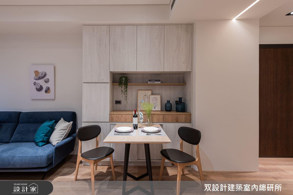20坪新成屋(5年以下)_北歐風餐廳案例圖片_双設計建築室內總研所_双設計_13之3