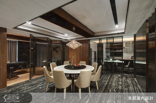 65坪新成屋(5年以下)_奢華風案例圖片_禾郅室內設計有限公司_禾郅_01之4
