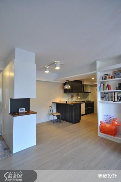 26坪老屋(16~30年)_現代風廚房吧檯走廊案例圖片_澄橙設計_澄橙_07之4