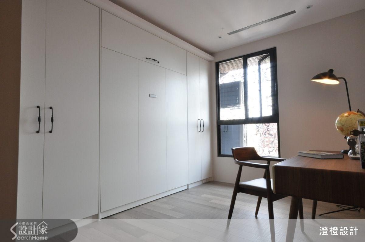 45坪新成屋(5年以下)_現代風臥室案例圖片_澄橙設計_澄橙_09之11