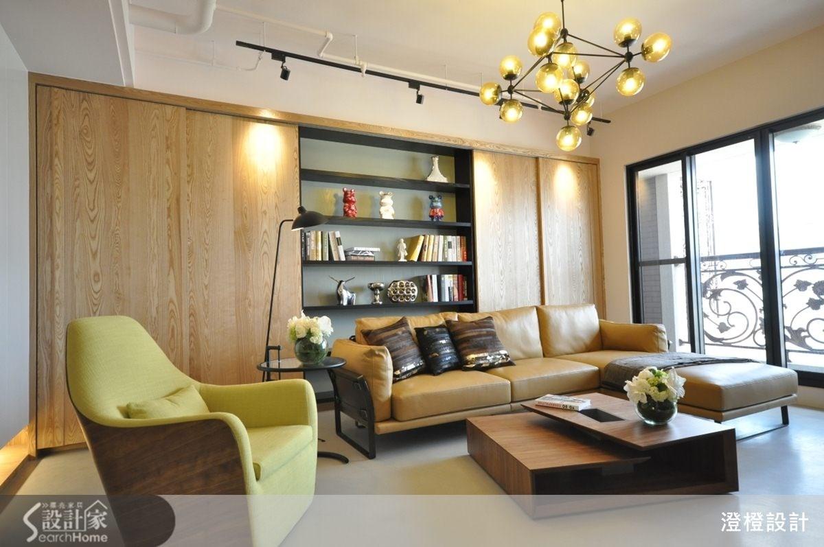45坪新成屋(5年以下)_現代風客廳案例圖片_澄橙設計_澄橙_09之2