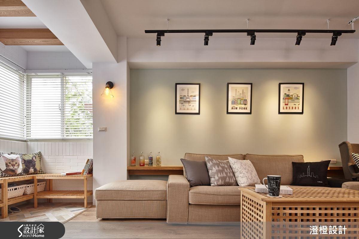 32坪老屋(16~30年)_北歐風客廳案例圖片_澄橙設計_澄橙_18之3