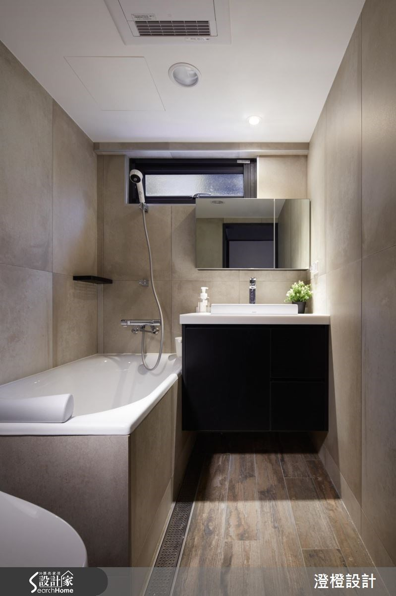 30坪老屋(16~30年)_混搭風浴室案例圖片_澄橙設計_澄橙_26之20