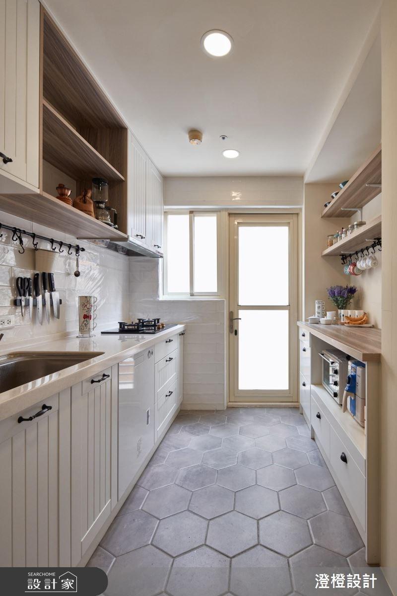 31坪中古屋(5~15年)_北歐風廚房案例圖片_澄橙設計_澄橙_32之12