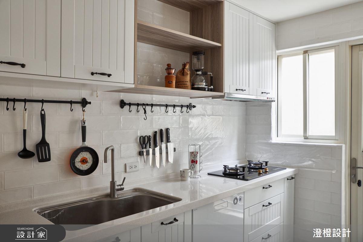 31坪中古屋(5~15年)_北歐風廚房案例圖片_澄橙設計_澄橙_32之13