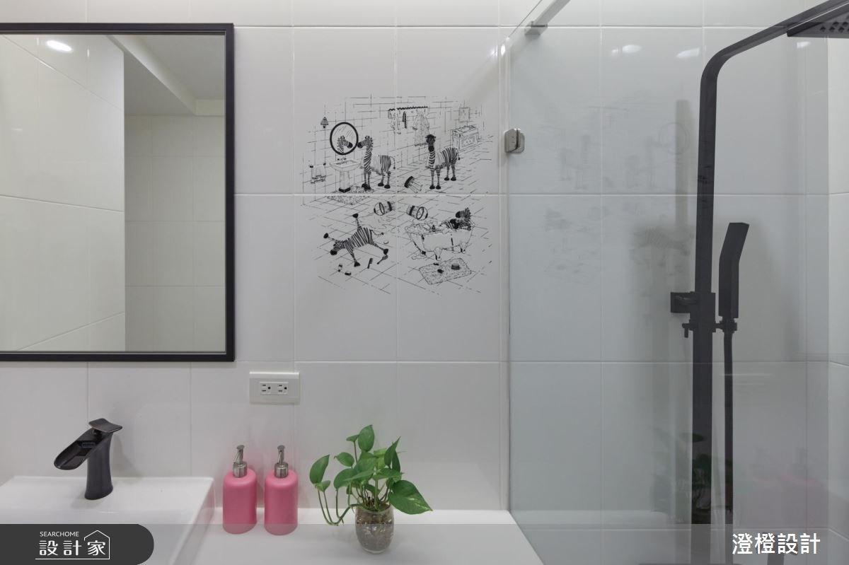 33坪中古屋(5~15年)_北歐風浴室案例圖片_澄橙設計_澄橙_34之21