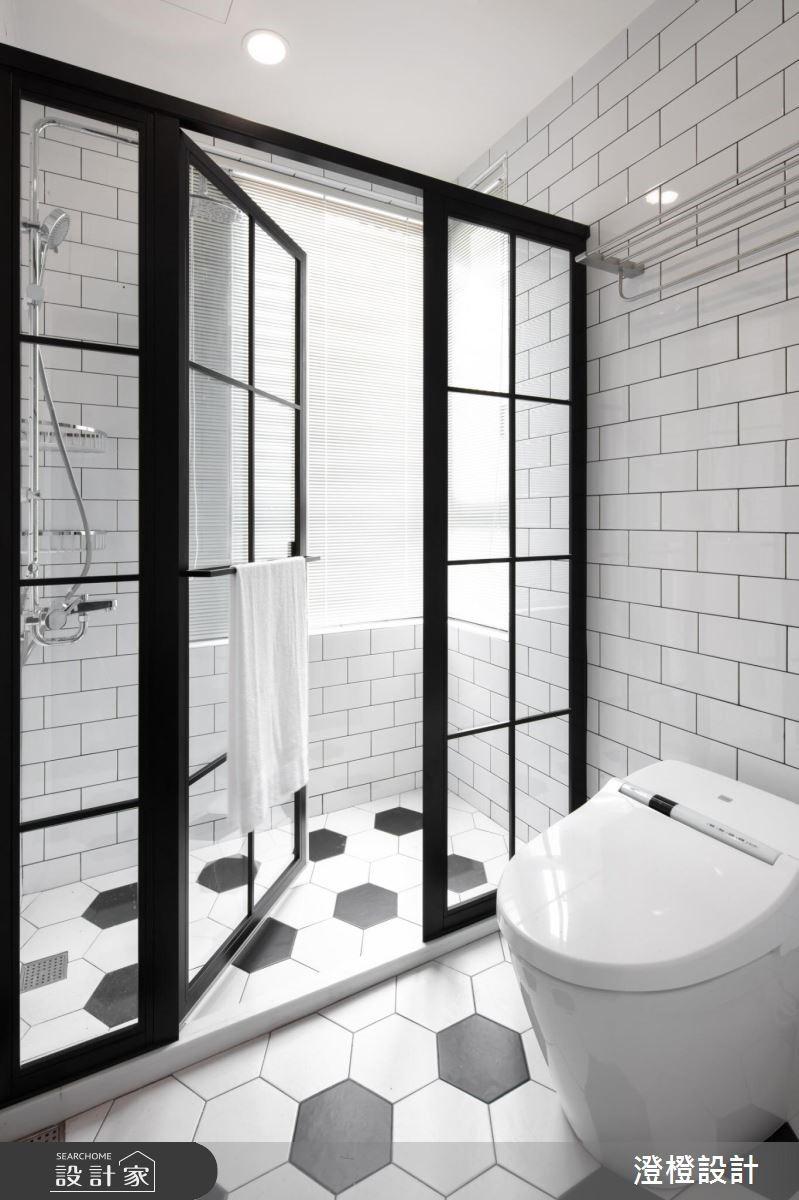 27坪新成屋(5年以下)_工業風浴室案例圖片_澄橙設計_澄橙_37之13